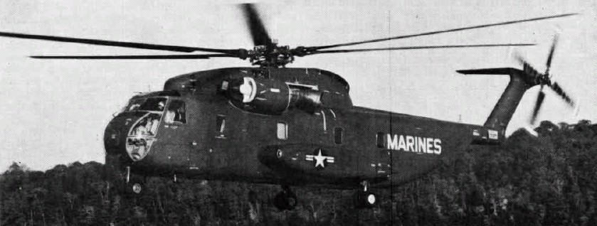 Sikorsky YCH-53A (1964)
